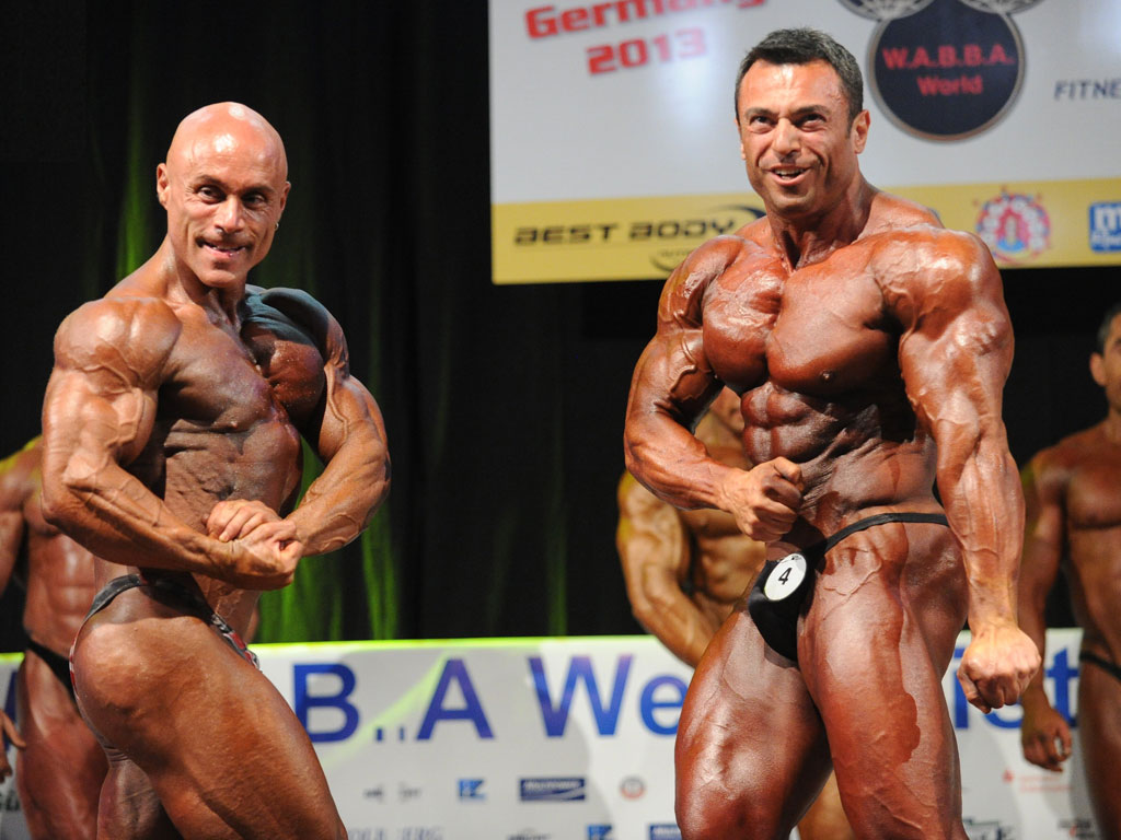 Mr Universo Wabba 2013 Men Body Small