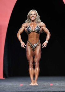 Juliana Malacarne al Women's Physique 2014